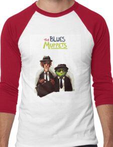 The Blues Muppets Men's Baseball ¾ T-Shirt