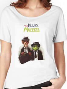 The Blues Muppets Women's Relaxed Fit T-Shirt