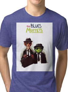 The Blues Muppets Tri-blend T-Shirt