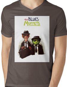 The Blues Muppets Mens V-Neck T-Shirt