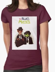 The Blues Muppets Womens Fitted T-Shirt
