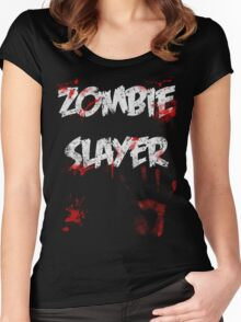 Zombie Slayer Women's Fitted Scoop T-Shirt