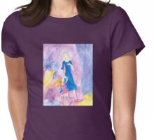 Child of the TARDIS-Womens Womens Fitted T-Shirt