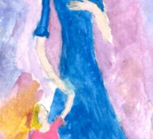 Child of the TARDIS-Womens Sticker