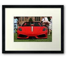 ENVI OF YOUNGER Ferrari F430 Generation Framed Print