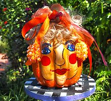 Pumpkin Head by Steven Gibson