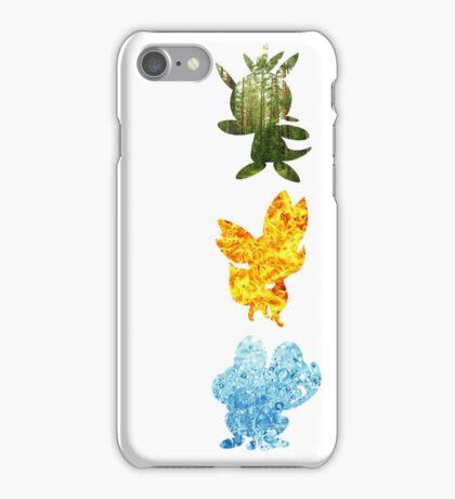 Generation Six Starters iPhone Case/Skin