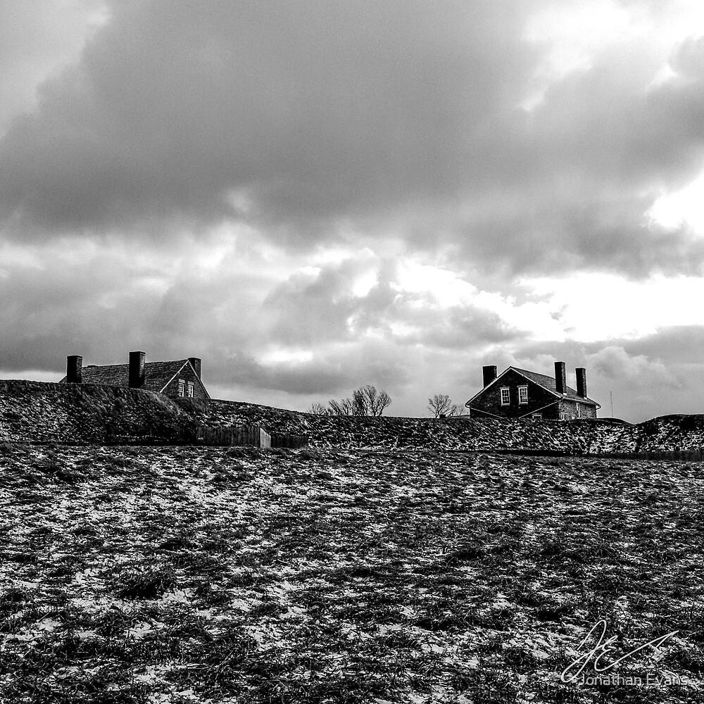 Dark winter clouds by Jonathan Evans