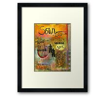 Trust in Your Potential Framed Print