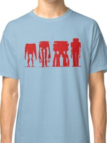 ROBOTS > RED SILHOUETTE Classic T-Shirt