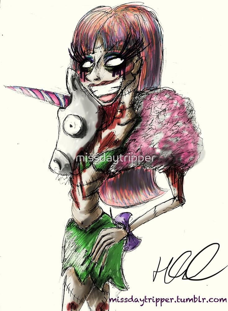 Zombie Jade Jolie  by missdaytripper