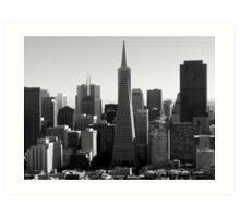 TransAmerica Pyramid: San Francisco Art Print