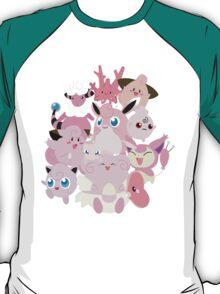 Pink Pokemon Unite! T-Shirt
