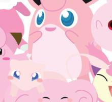 Pink Pokemon Unite! Sticker