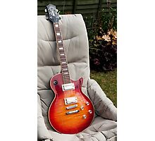 Guild Bluesbird Guitar Photographic Print