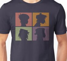 Gorillaz - Demon Days (Silhouette) Unisex T-Shirt