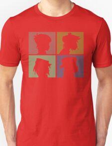Gorillaz - Demon Days (Silhouette) Unisex T-Shirt
