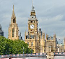 Parliament London by Pauws99