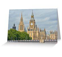 Parliament London Greeting Card