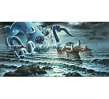 Kraken Attack! Photographic Print
