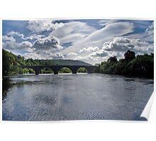 River Tay at Dunkeld Poster