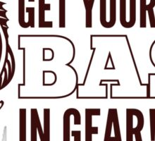 Get Your Bass In Gear Shirt Sticker