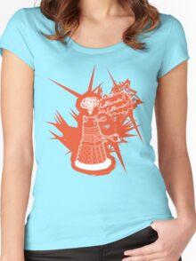 Caffeinate! Caffeinate! Women's Fitted Scoop T-Shirt