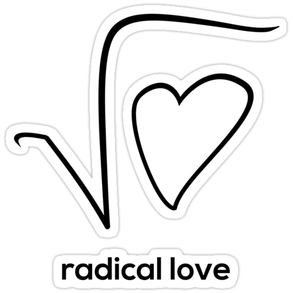 Radical Love (Black Version) by starkat
