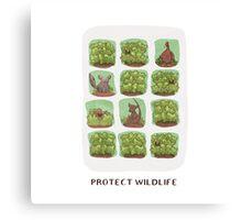 Protect Wildlife Canvas Print