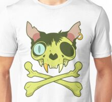Kitty Krossbones Unisex T-Shirt