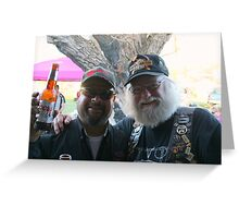 Bikers Young To Old Greeting Card