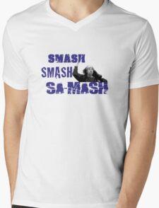 Kai - Smash Smash Smash Mens V-Neck T-Shirt
