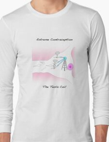 Extreme Contraception: The Tesla Coil Long Sleeve T-Shirt