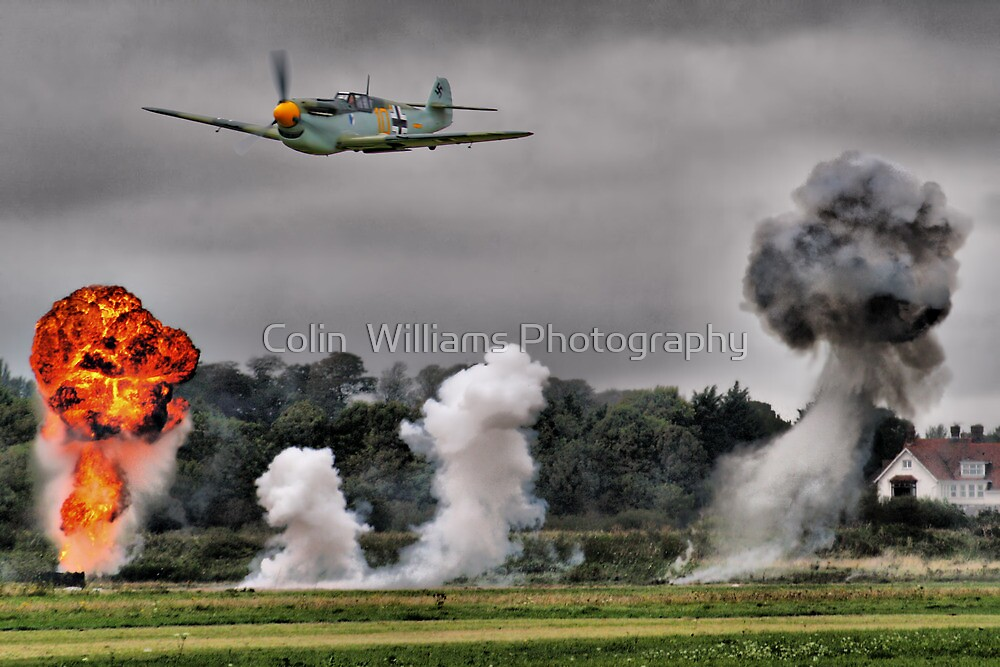 Airfield Attack - Shoreham 2012 by Colin  Williams Photography