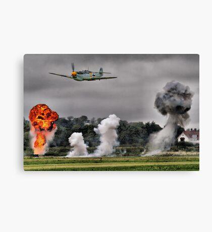 Airfield Attack - Shoreham 2012 Canvas Print