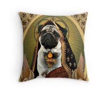 holy fawn Throw Pillow