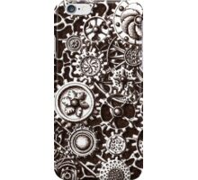 Cogs #3 (with BG and black shading) iPhone Case/Skin