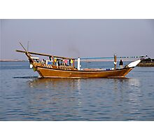 Departing Dhow Photographic Print