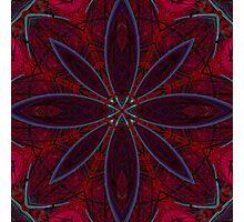 Flower Tile Photographic Print