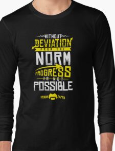 Deviation from the Norm Long Sleeve T-Shirt