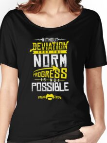 Deviation from the Norm Women's Relaxed Fit T-Shirt