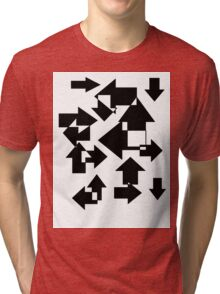 Lost In All Directions Tri-blend T-Shirt