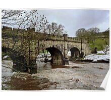 The Wharfe in Flood Poster