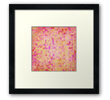Happy Pixels Framed Print