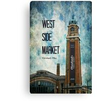 West Side Market, Cleveland, Ohio Canvas Print