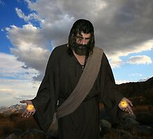 Jesus into the desert by Angelicus
