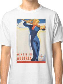 Vintage poster - Austria Classic T-Shirt