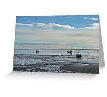 Holy Island Bay Greeting Card