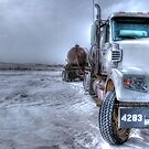 Big old Freightliner. by pdsfotoart