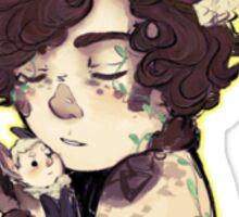 Fawnlock and Batjohn Cuddles Sticker